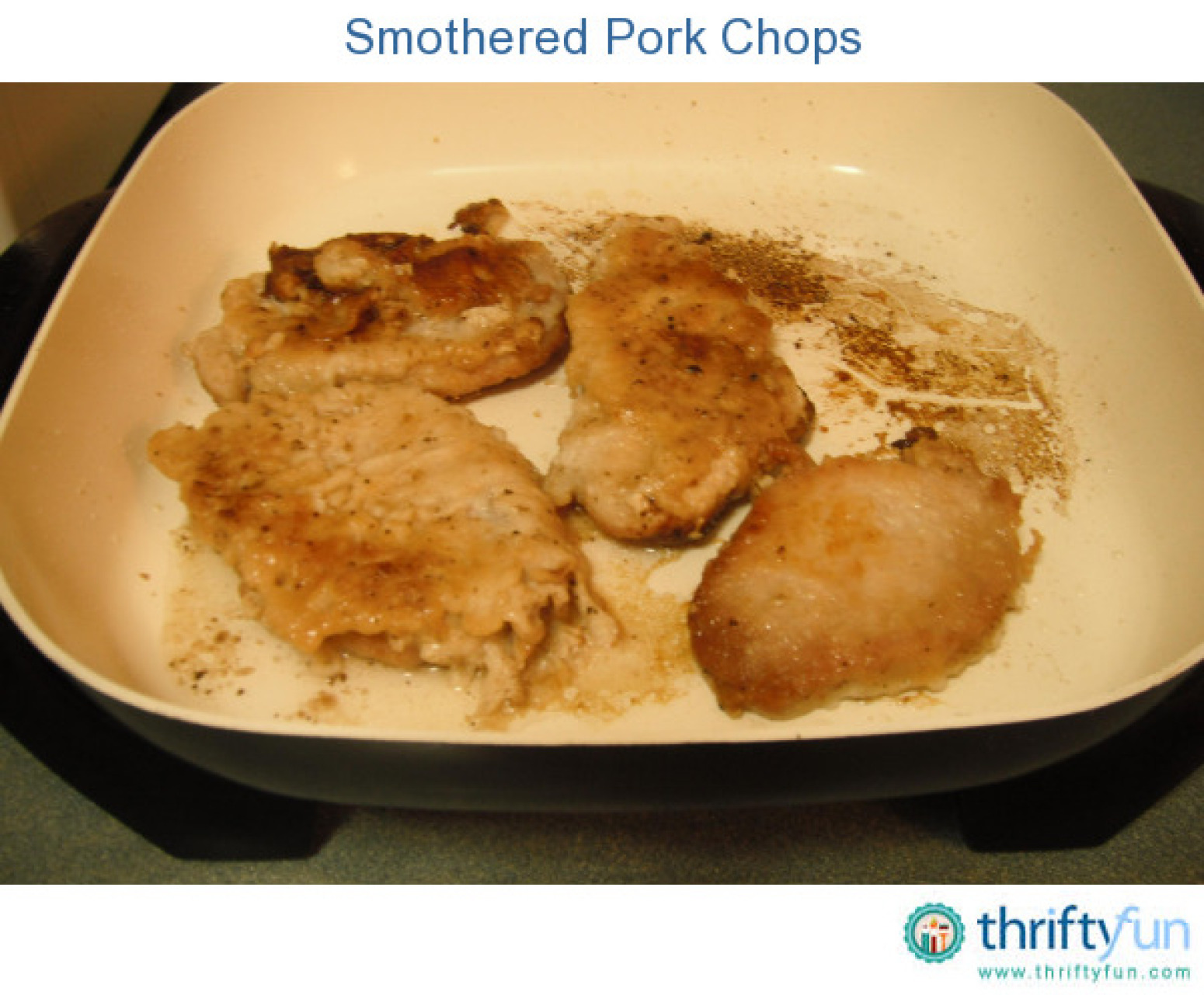 smothered pork chops recipe 31 just a pinch recipes