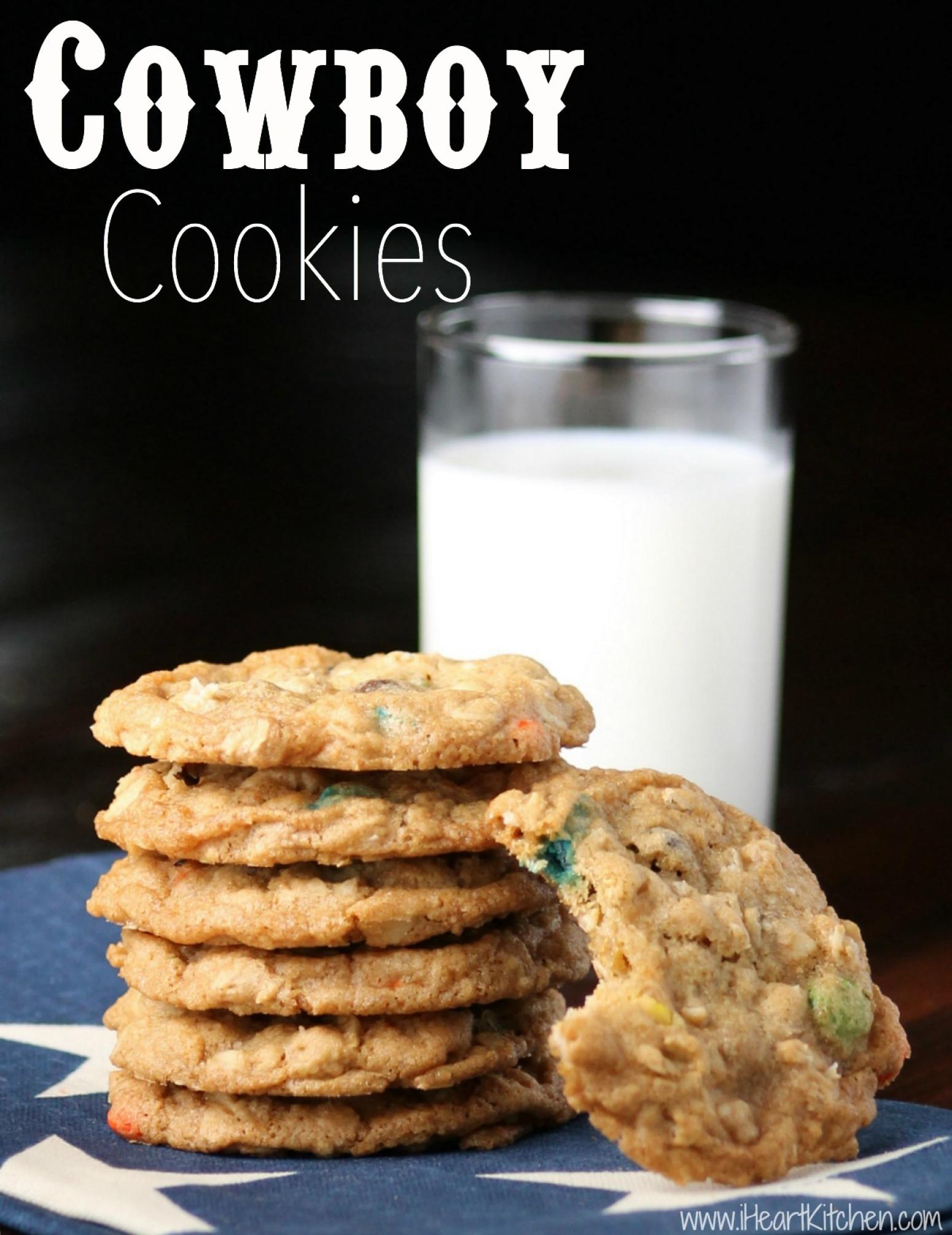 Cowboy Cookies Recipe — Dishmaps