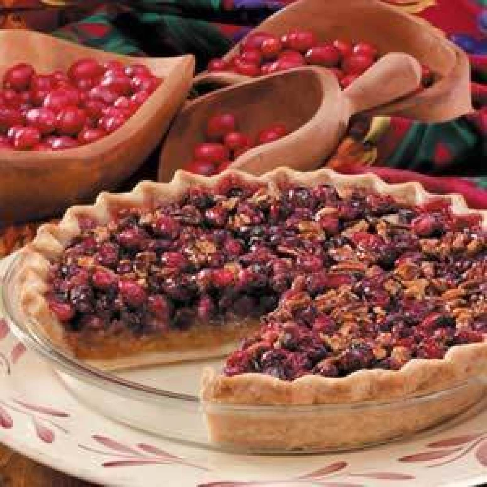 Cranberry Pecan Pie Recipe 3 | Just A Pinch Recipes
