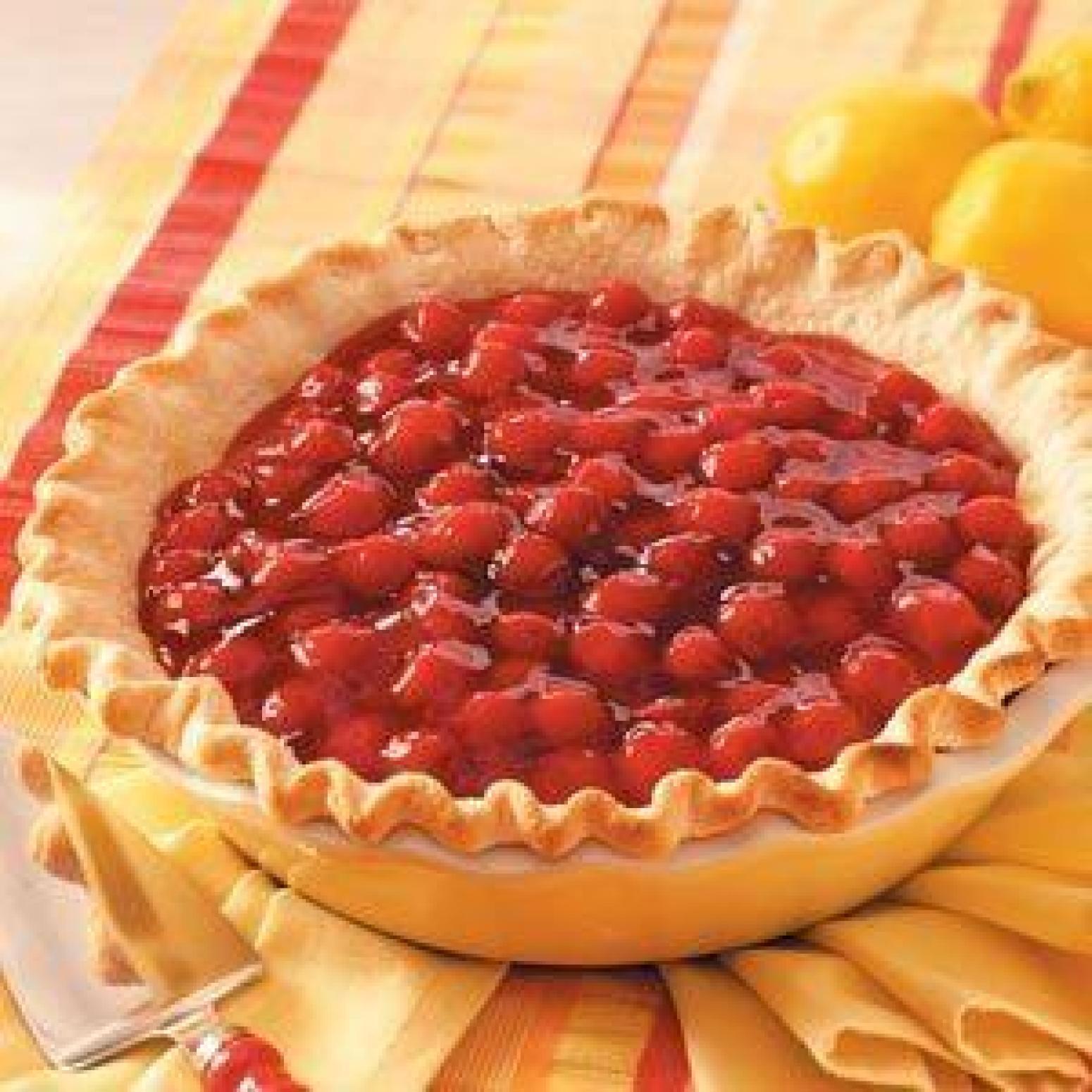 Cherry-Lemon Icebox Pie Recipe