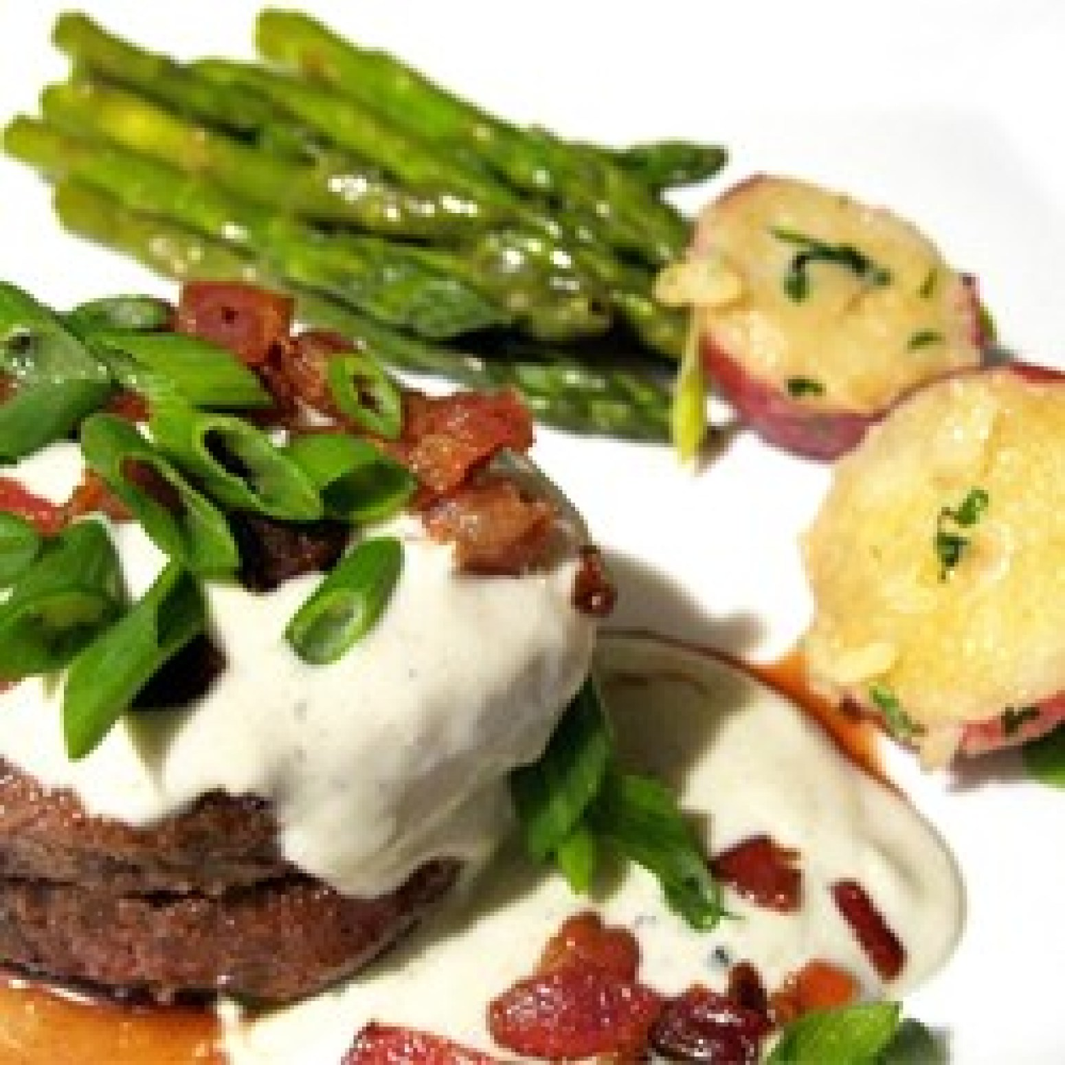 Grilled Filet Mignon with Gorgonzola Cream Sauce Recipe 2 | Just A ...