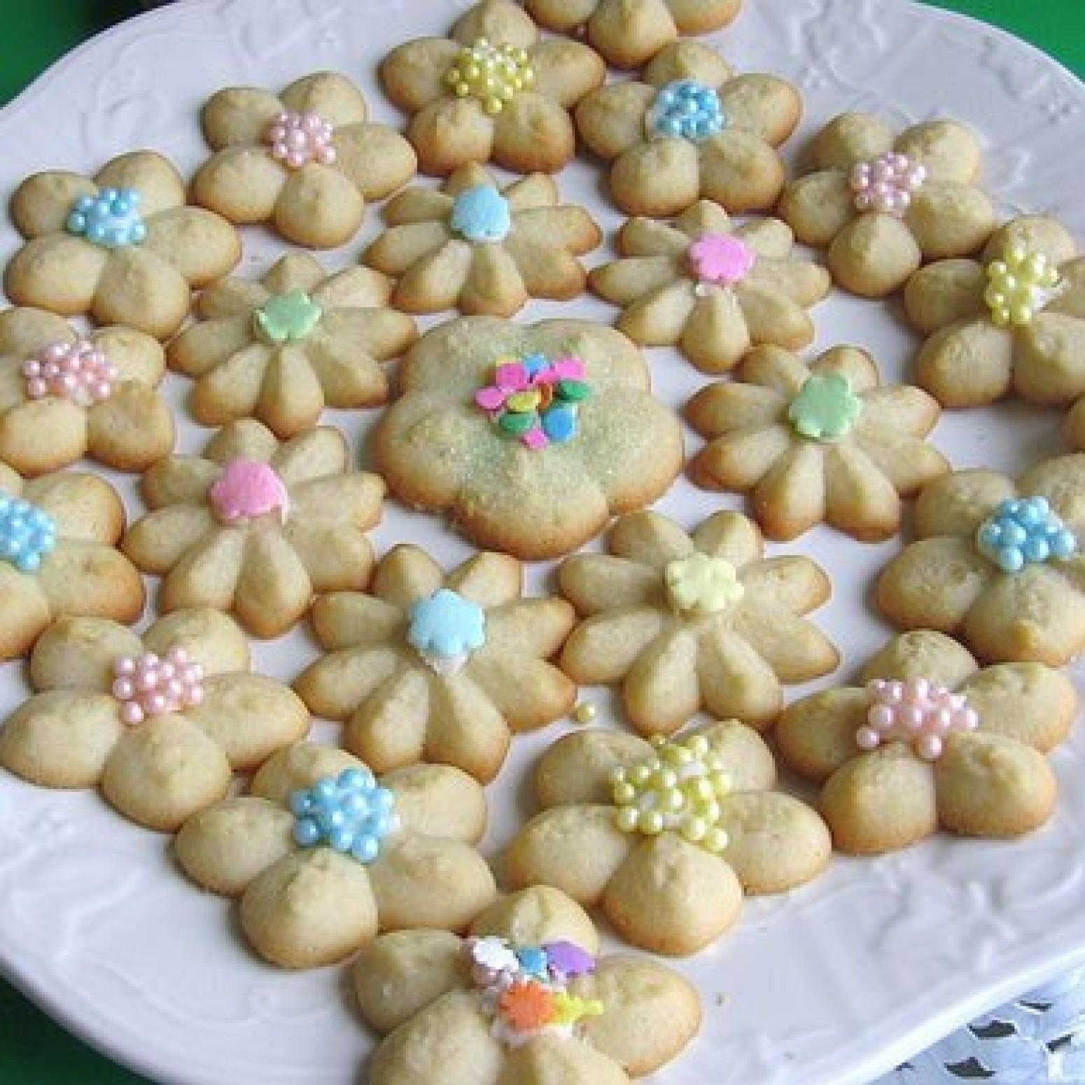 Polish Spritz Cookies Recipe Ciasteczka z Maszynki | Just ...