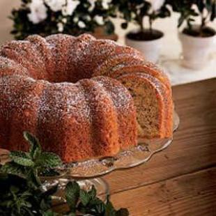 BANANAS 'N' CREAM BUNDT CAKE Recipe