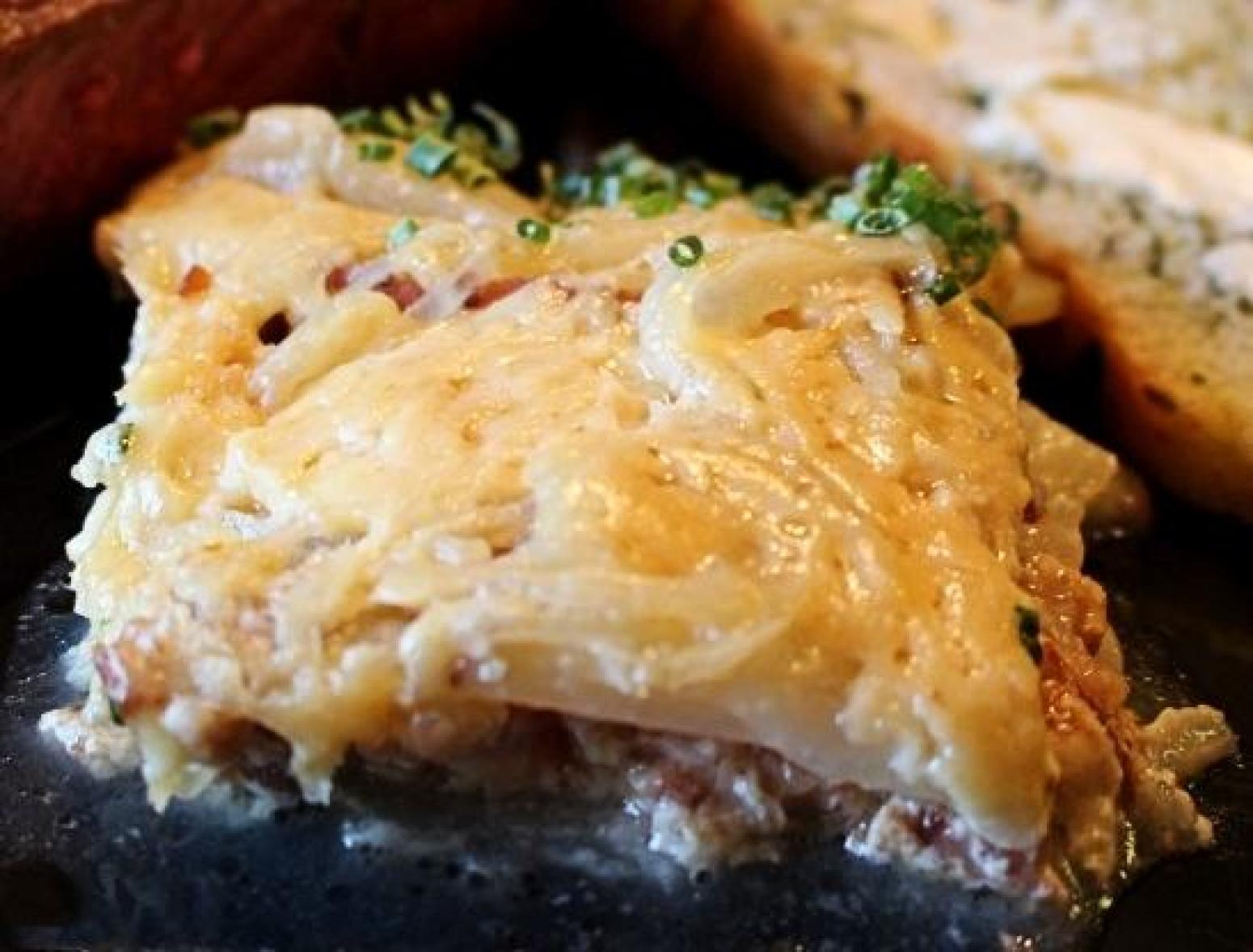 Three Cheese Potato's Recipe | Just A Pinch Recipes