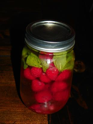 Raspberry and Mint Infused Water Recipe