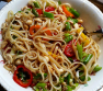 ~ Asian Linguine Salad ~ My Way