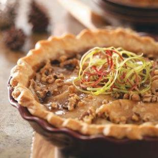 Caramel Apple Walnut Pie Recipe