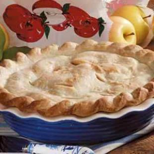 Golden Apple Pie Recipe