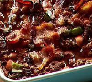 MOM'S BEST EVER 5 BEAN CASSEROLE Recipe
