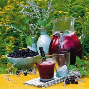 Blackberry Iced Tea Recipe