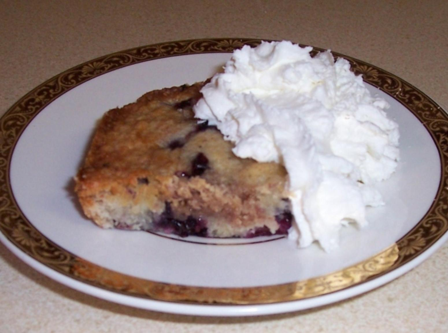 Mother's Blueberry Buckle Recipe
