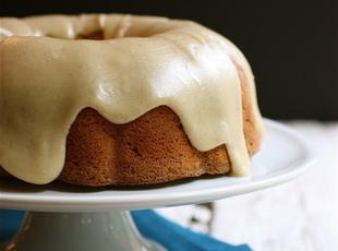 Apple Bundt with Brown-Butter Vanilla Bean Glaze Recipe