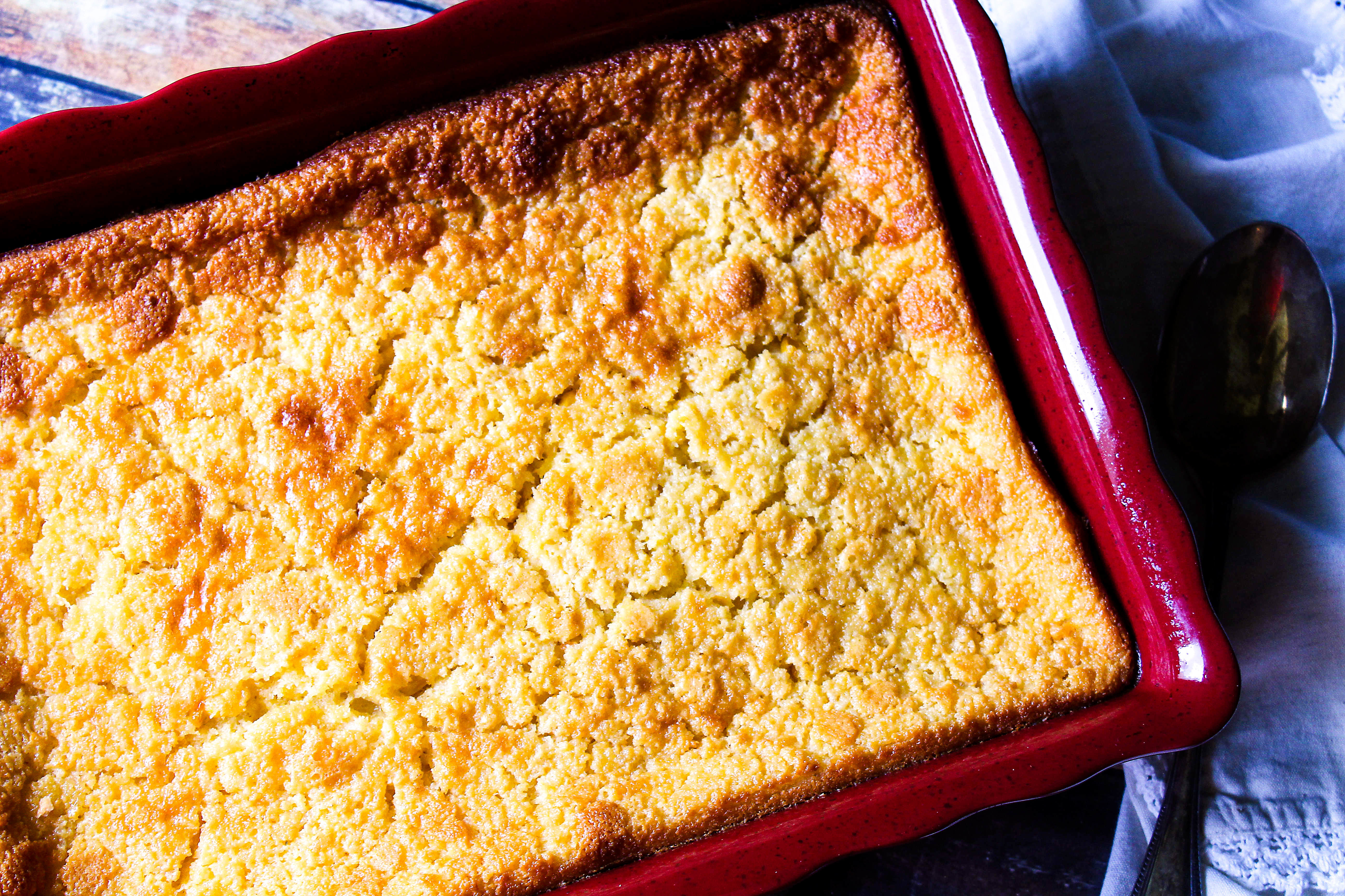 Holiday Baked Corn Pudding Recipe Just A Pinch Recipes