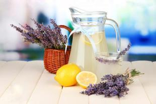 HOME-MADE LAVENDER LEMONAIDE Recipe