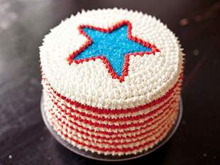Best 4th of July Red, White and Blue Velvet Cake Recipe
