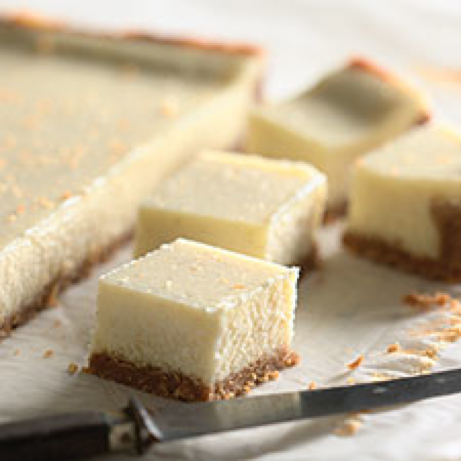 Vanilla Bean Cheesecake Bars Recipe | Just A Pinch Recipes