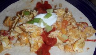 Migas (Tortilla Scramble) Recipe