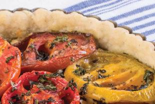 Gluten-Free Tomato Tart Recipe