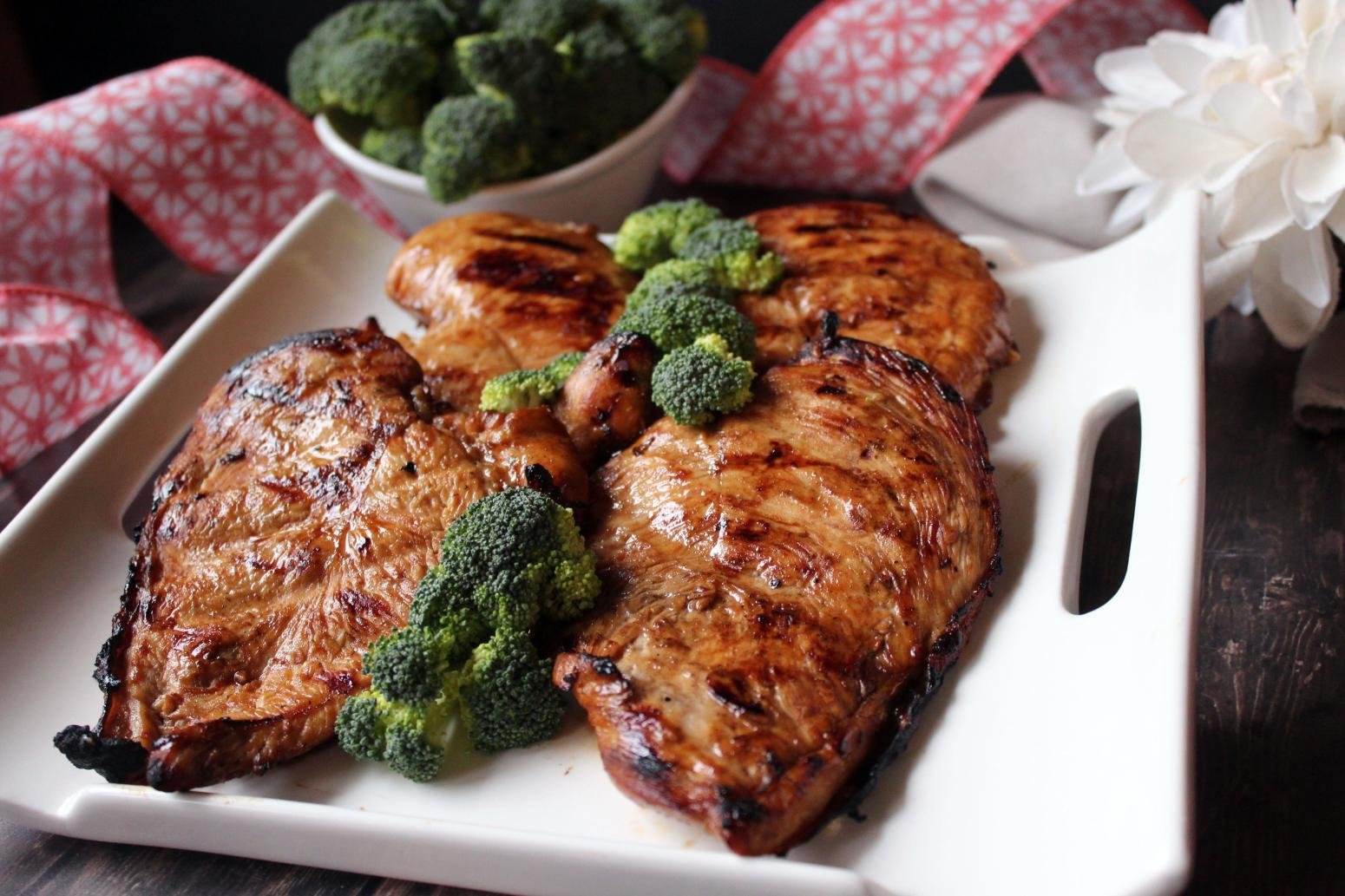 Super Easy Grilled Chicken Teriyaki Recipe | Just A Pinch Recipes
