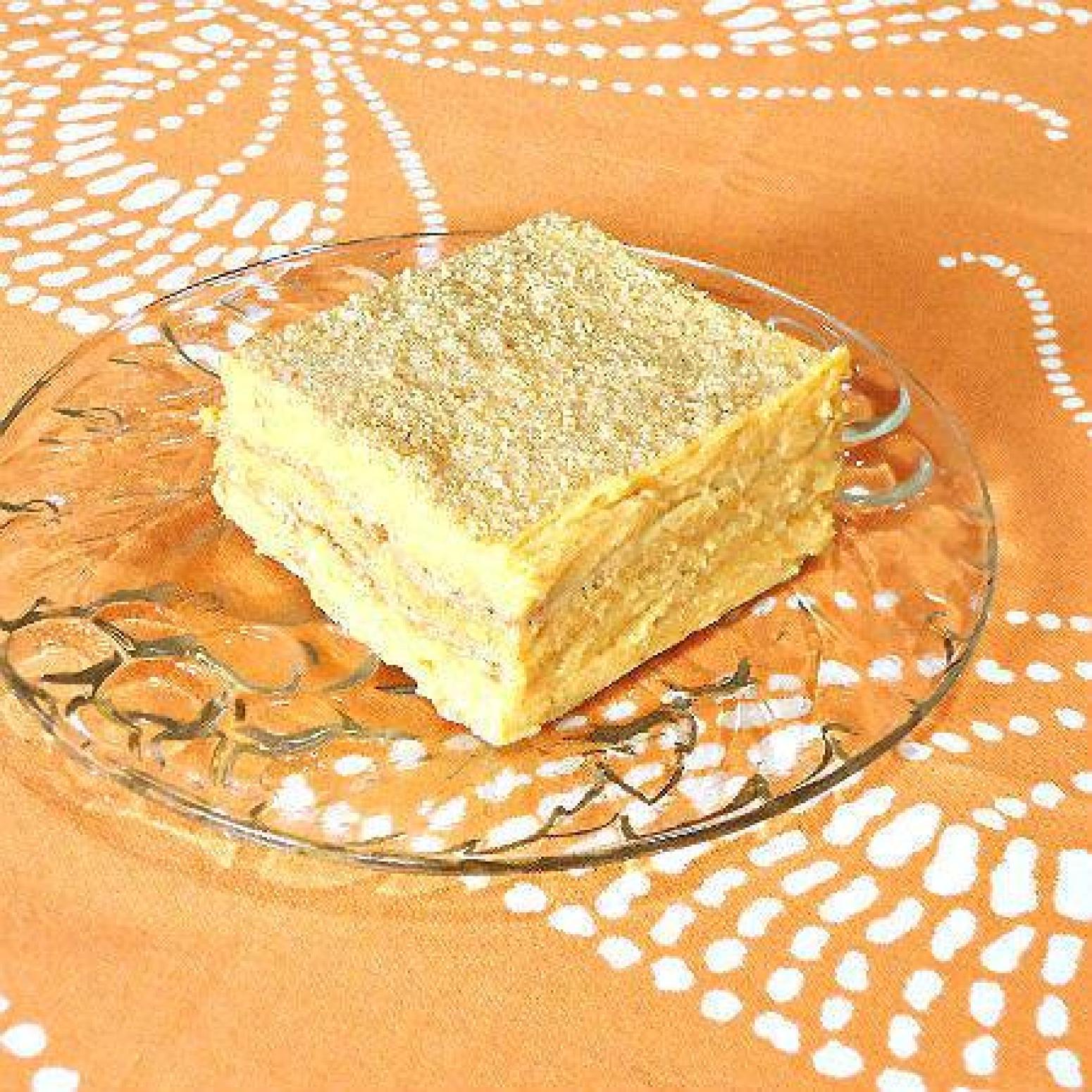 pumpkin freezer cake with mascarpone cheese recipe just a pinch recipes