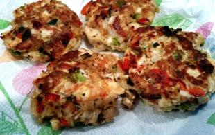 ~ Dandy Deviled Chicken Patties ~ Recipe