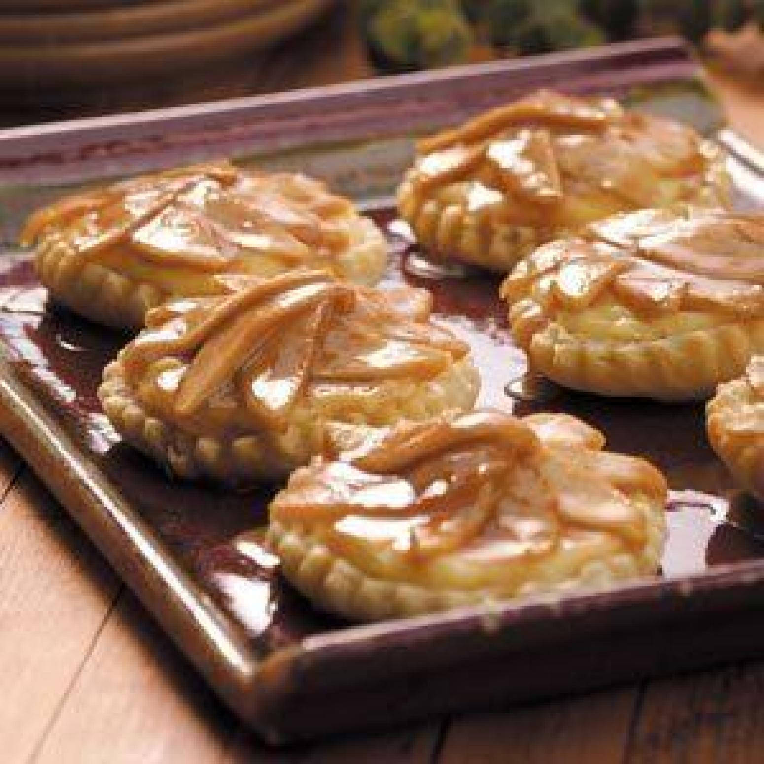Caramelized Apple Tarts Recipe | Just A Pinch Recipes
