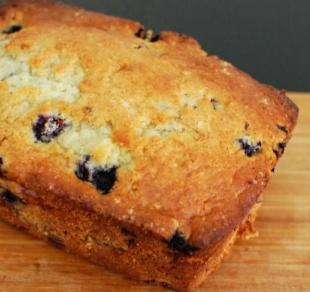 BLUEBERRY CREAM CHEESE BREAD Recipe