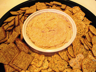 Cheesy Onion Spread Recipe