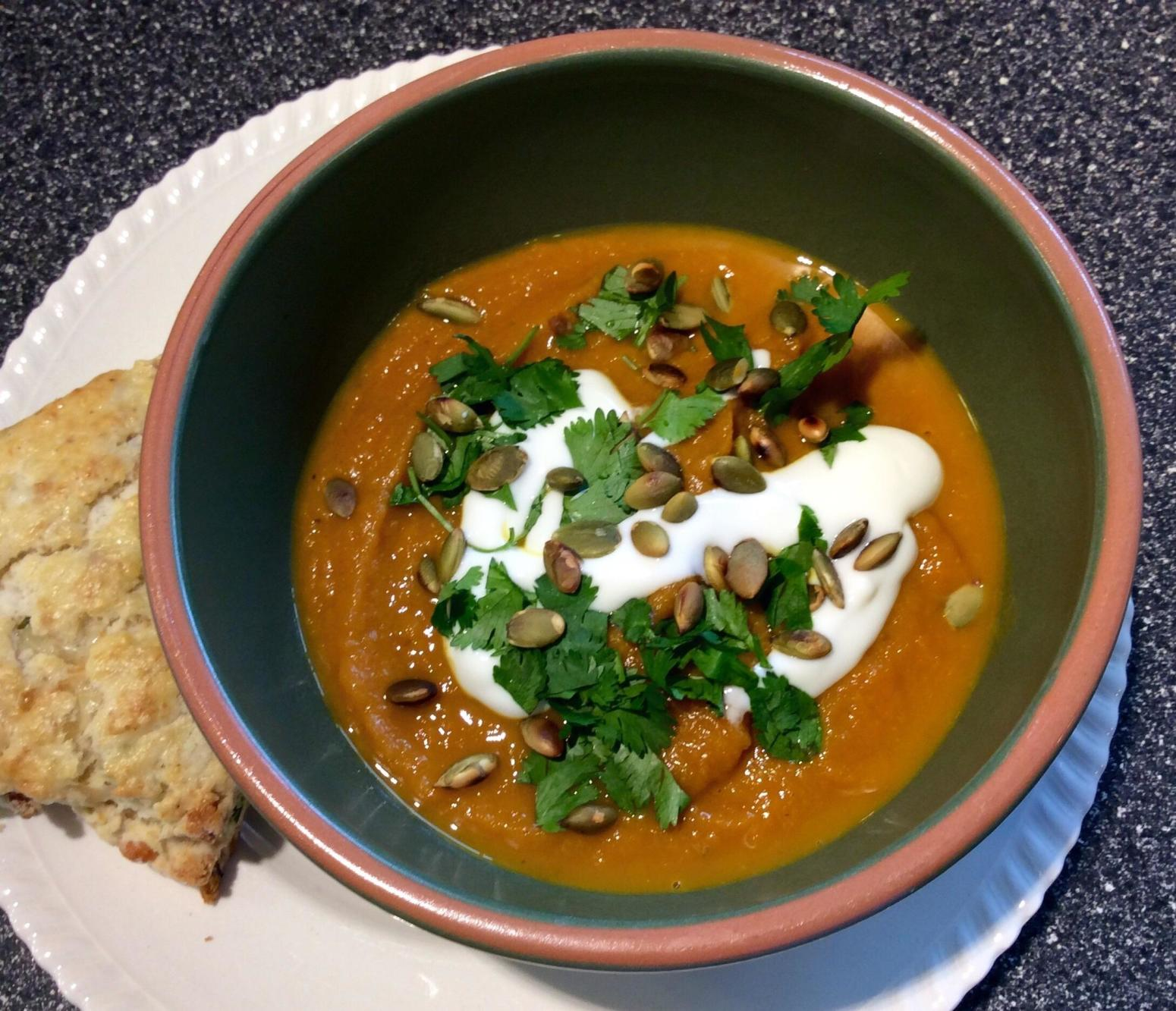 Chipotle Pumpkin Soup Recipe | Just A Pinch Recipes
