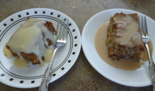 PEAR PUDDING CAKE Recipe