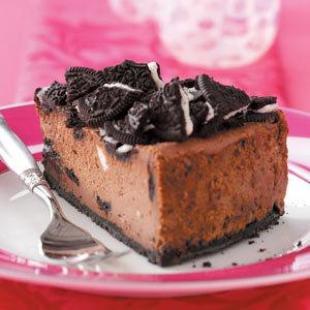Chocolate Sandwich Cookie Cheesecake Recipe