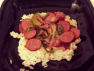 Peppers, Onions and Beef Sausage Recipe