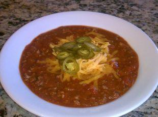 "Big Bill's ""Win or Lose"" Chili"