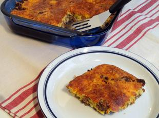 Mom's Impossible Cheeseburger Pie Recipe