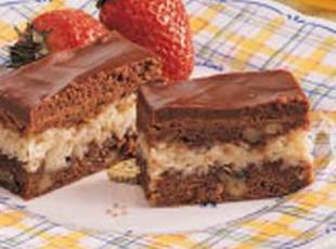 Amazing Macaroon Brownies Recipe