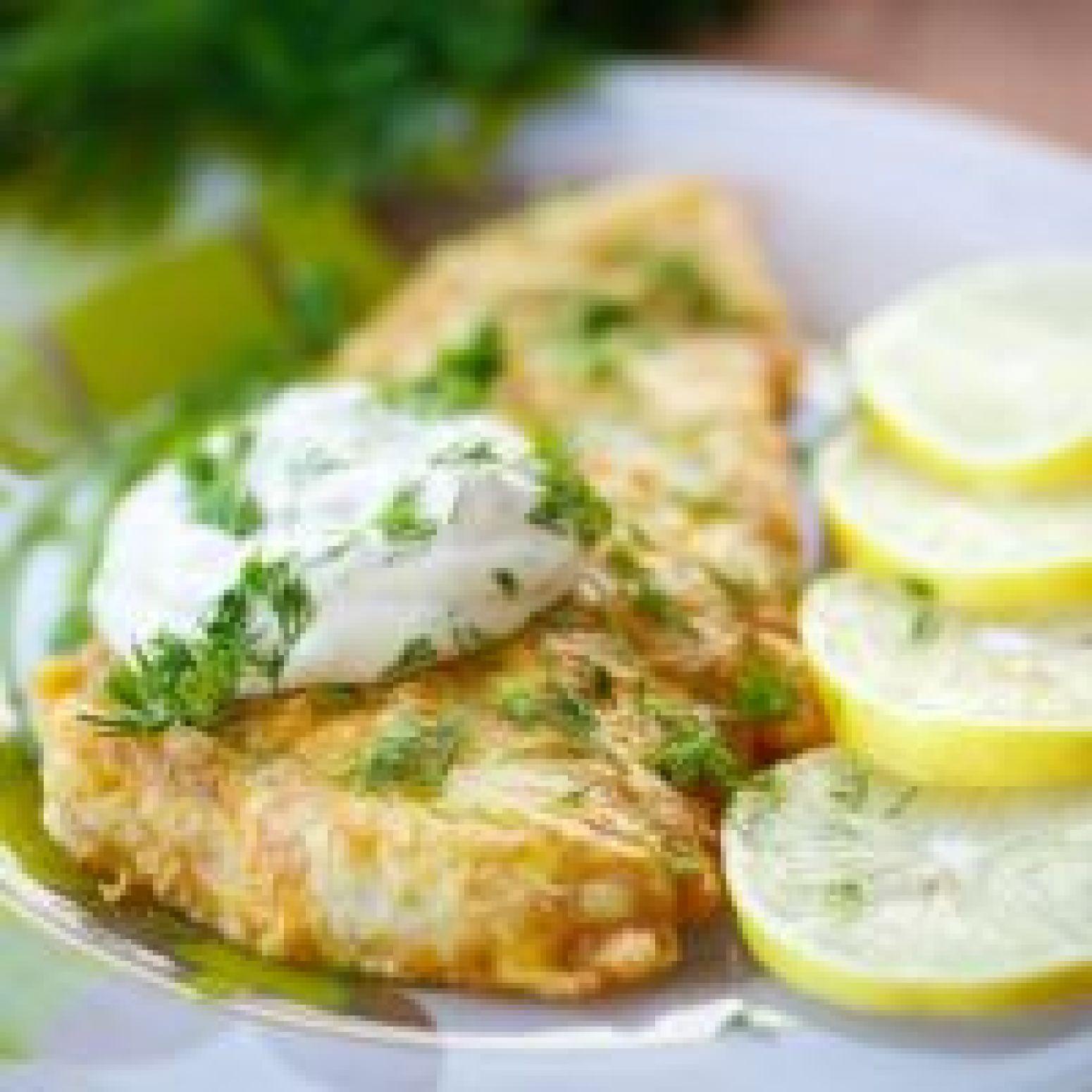 Fried lemon fish recipe just a pinch recipes for Lemon fish recipe