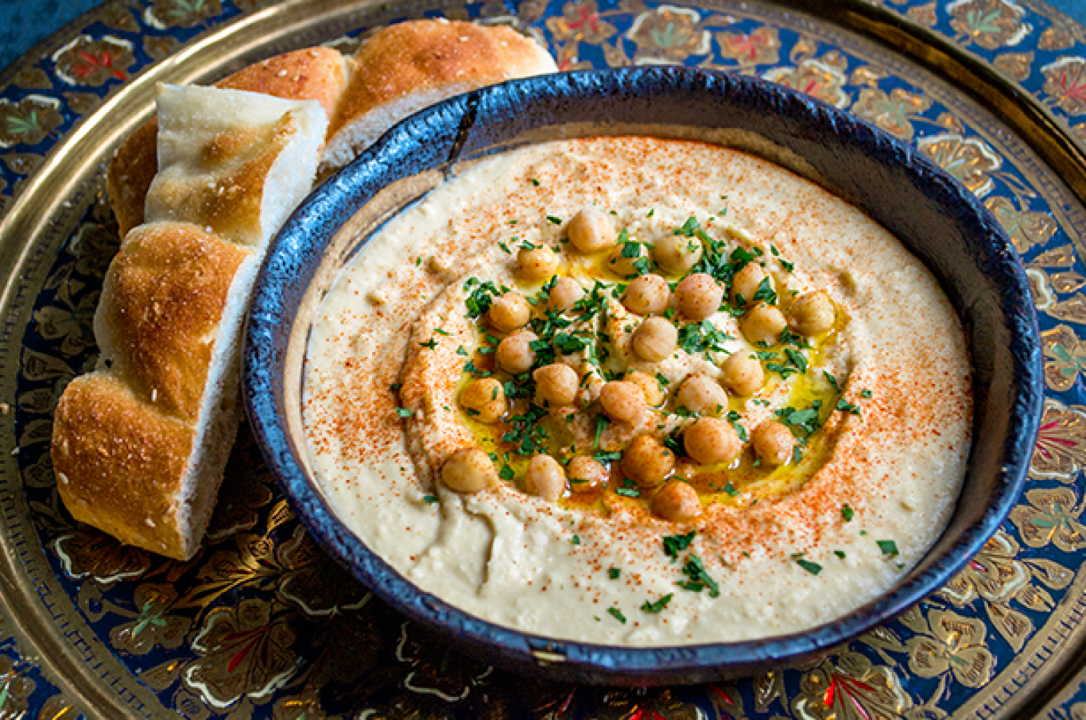 Jamie Oliver's Best Basic Hummus Recipe | Just A Pinch Recipes