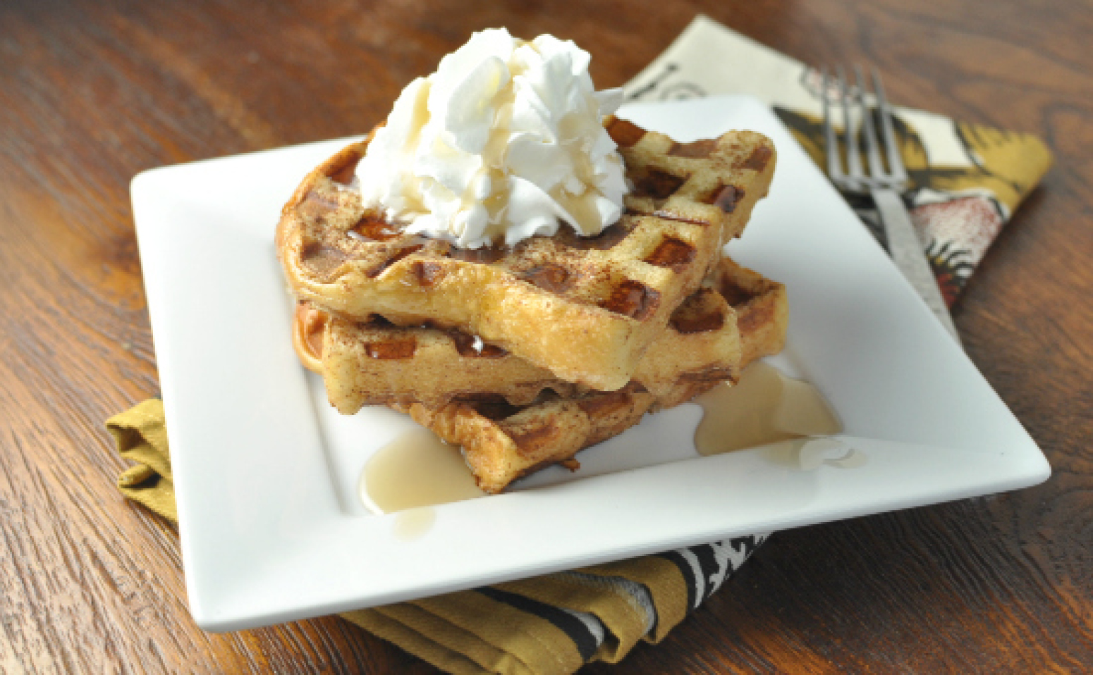 Waffle French Toast Recipe | Just A Pinch Recipes