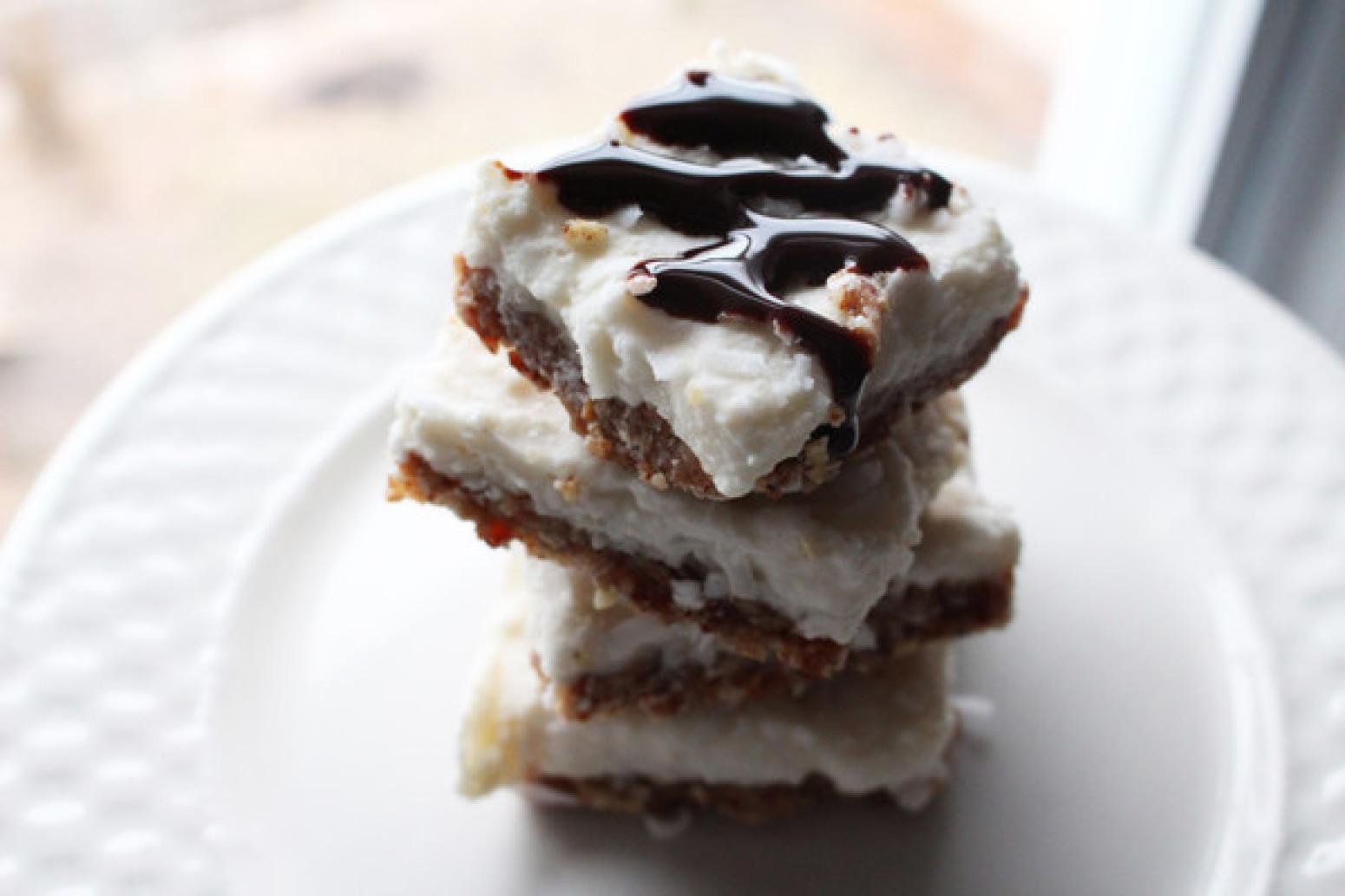 COCONUT CREAM PIE BARS Healthier 12 bars Recipe | Just A Pinch Recipes