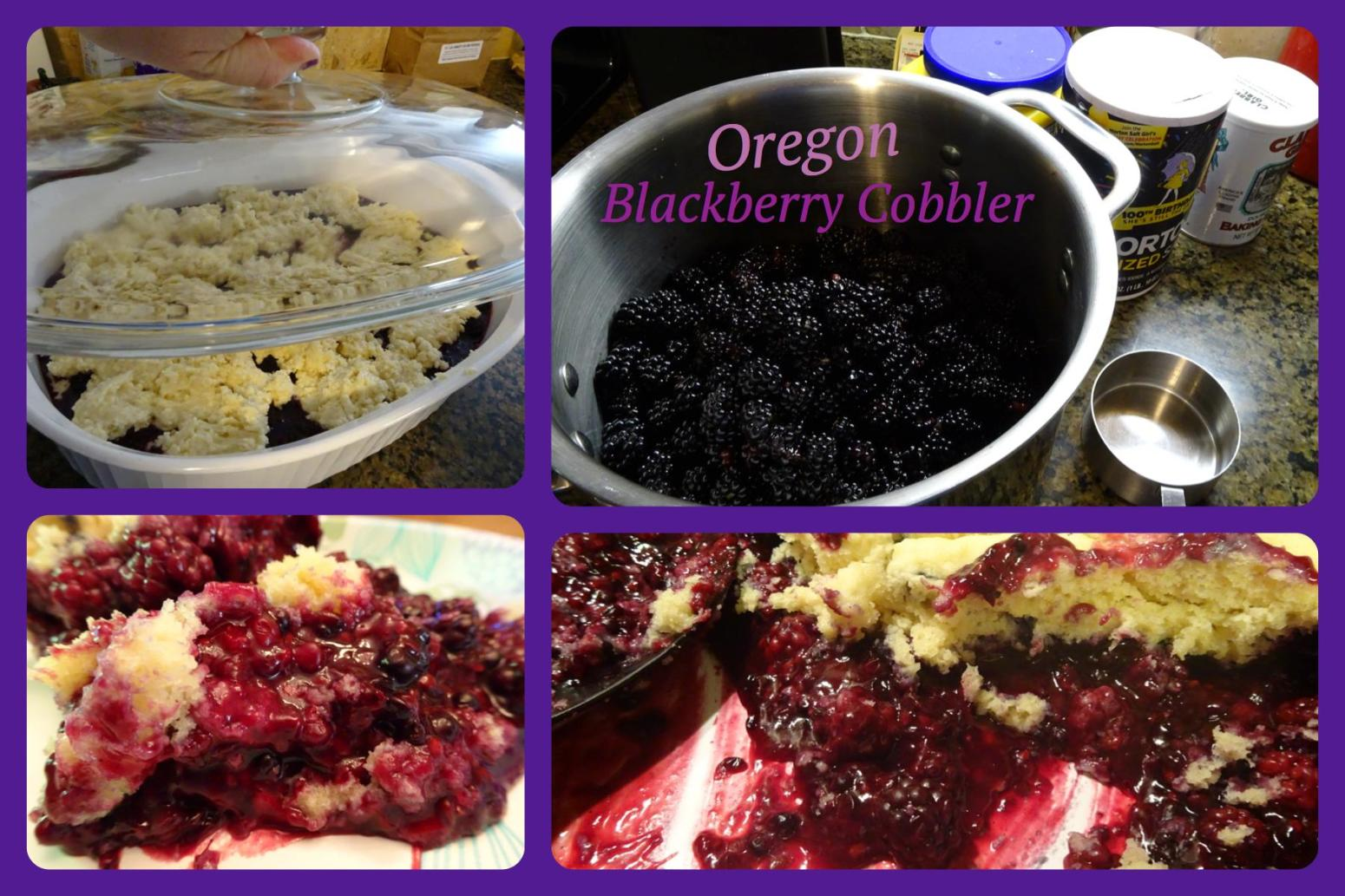 Oregon Blackberry Cobbler Recipe Just A Pinch Recipes