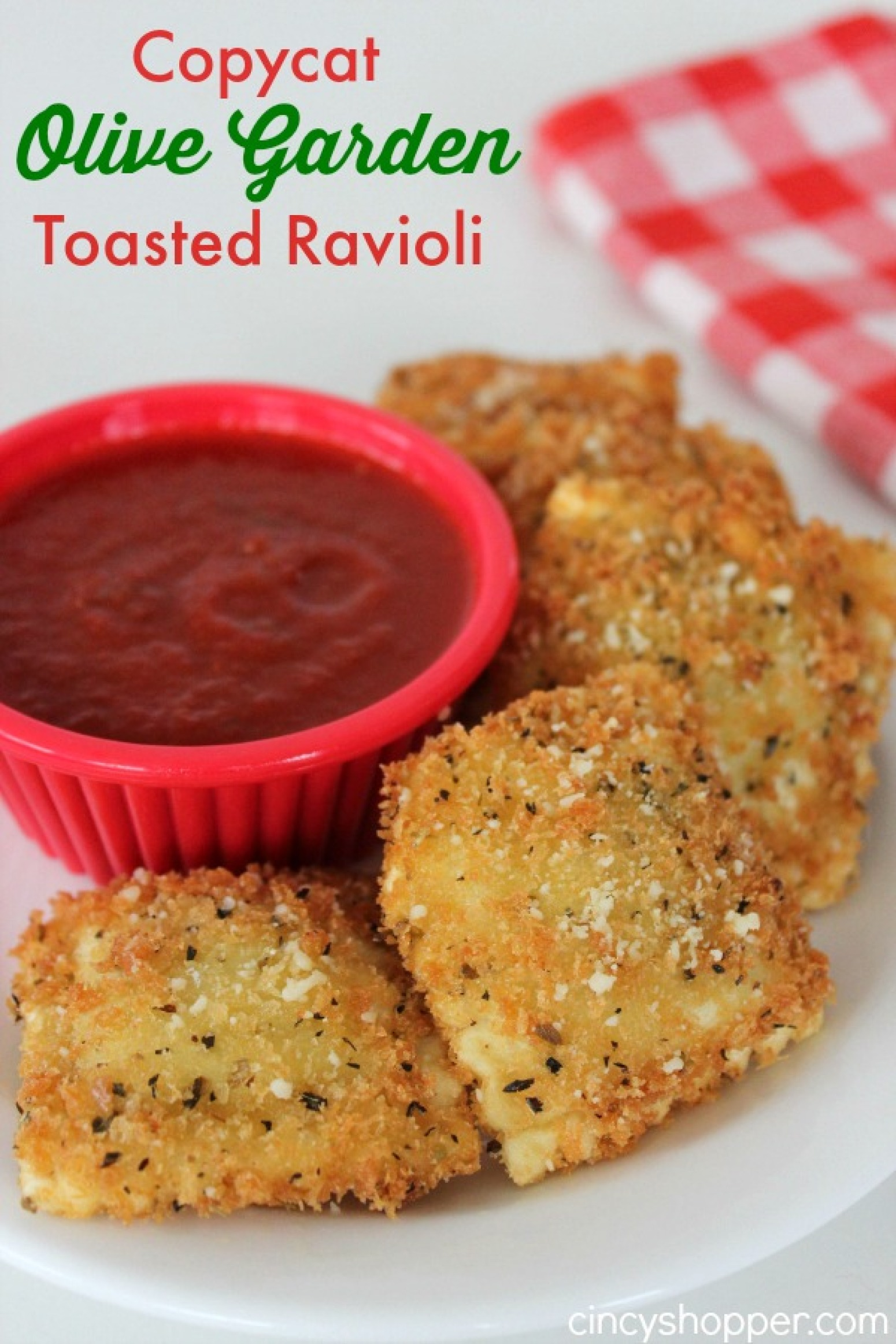 Copycat Olive Garden Toasted Ravioli Recipe Just A Pinch