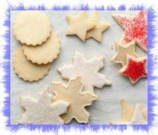12 days of Cookies-Sugar Cookies from Alton Brown Recipe