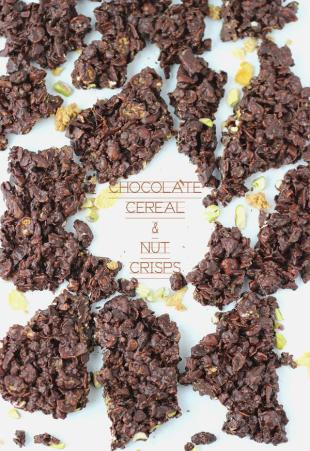 Chocolate Nut And Cereal Crisps Recipe