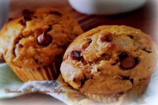 ~ Chocolate Chip Pumpkin Muffins ~ Recipe