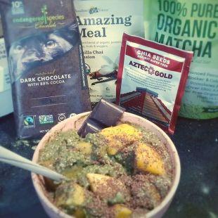 Super Fast & Filling Green Tea and Chia Pudding Recipe