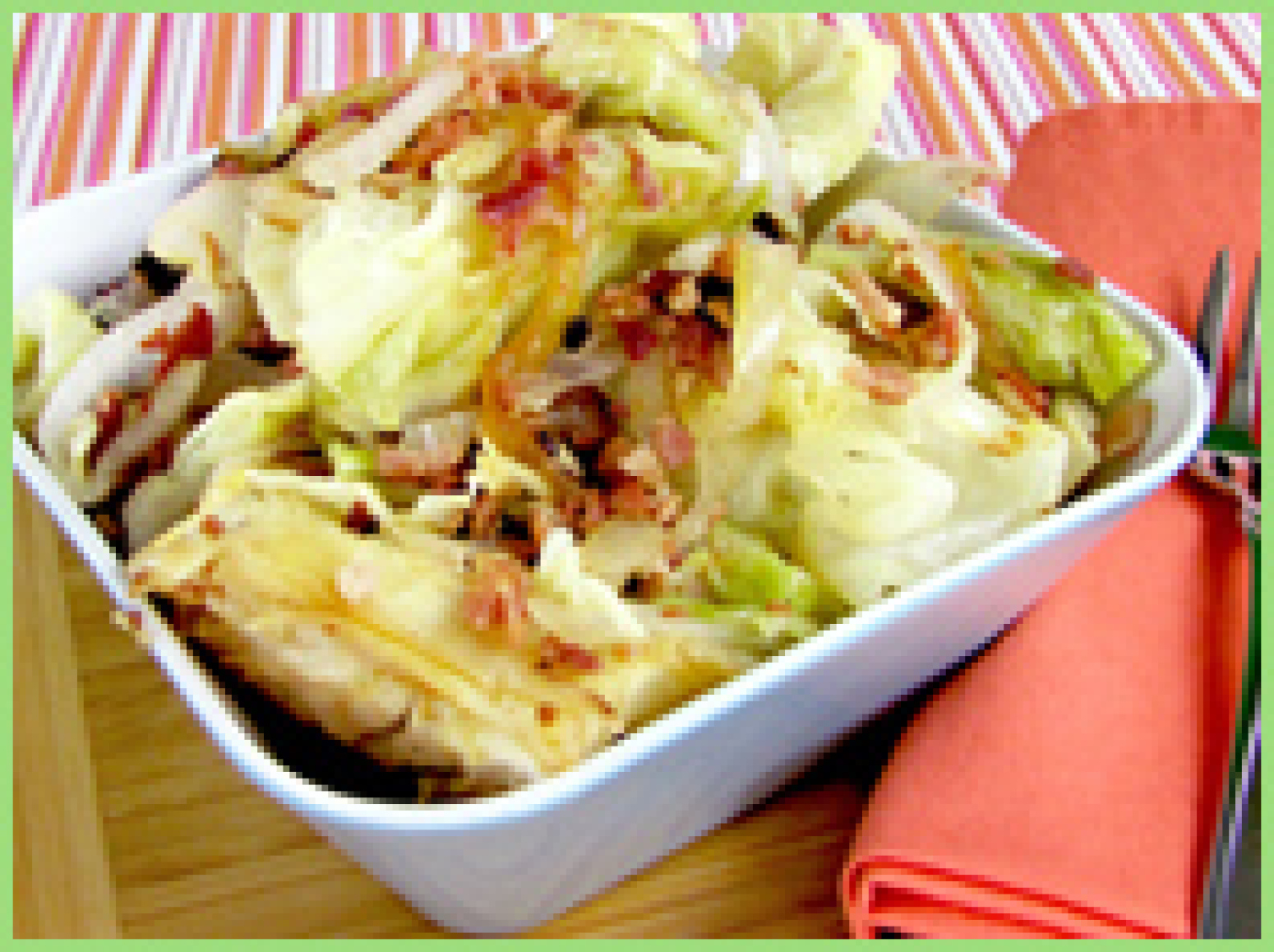 Cabbage Pack With Bacon Hungry Girl on oscar mayer precooked bacon