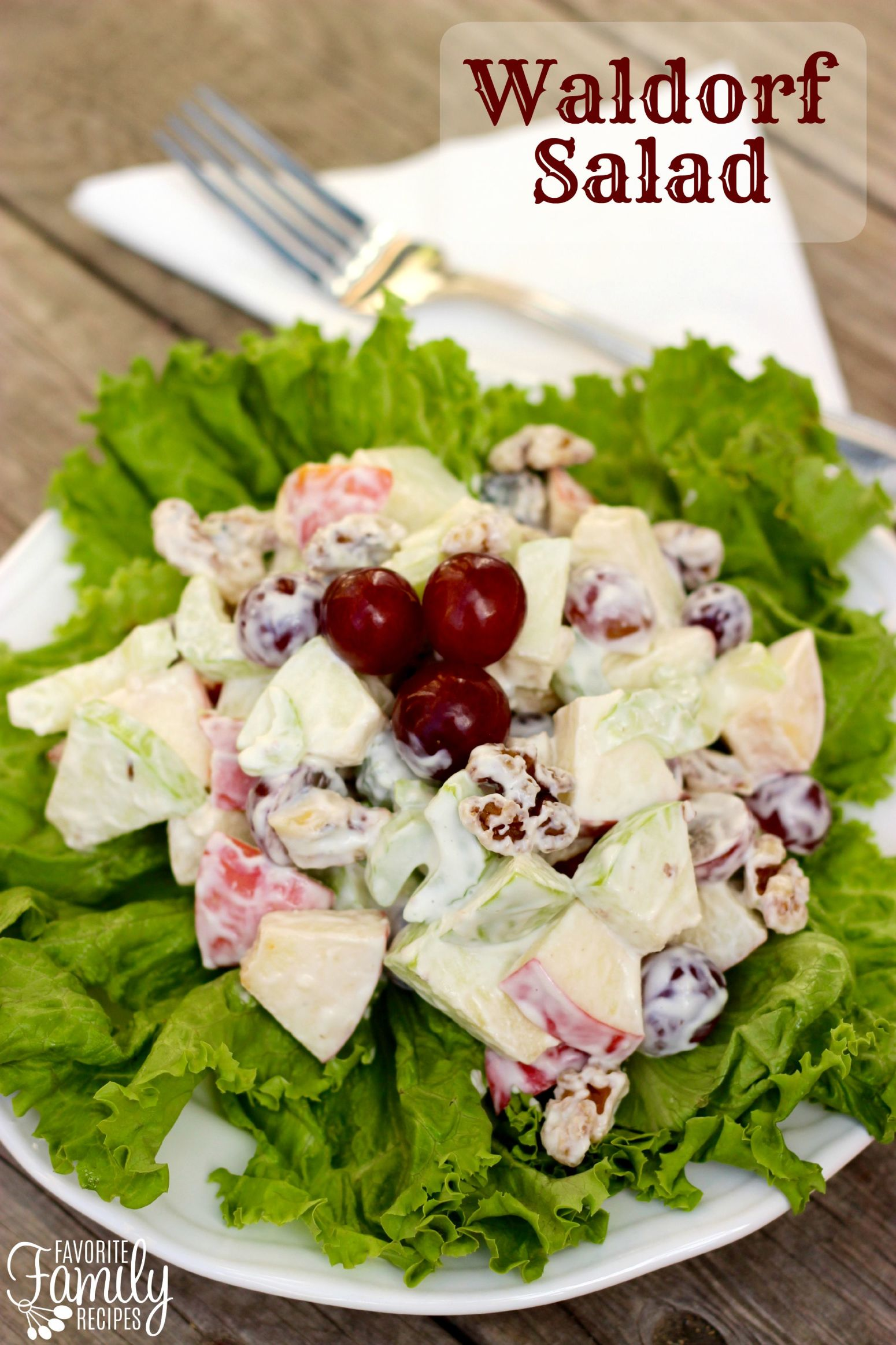Waldorf Salad Recipe 16 | Just A Pinch Recipes