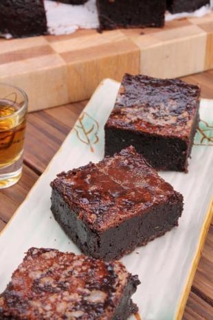 Bourbon Fudge Brownies Recipe
