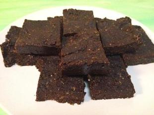 No Bake raw vegan Brownies Recipe