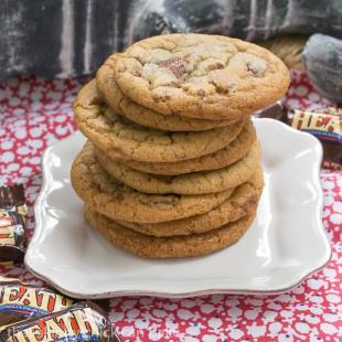 Brown Butter Toffee Cookies Recipe